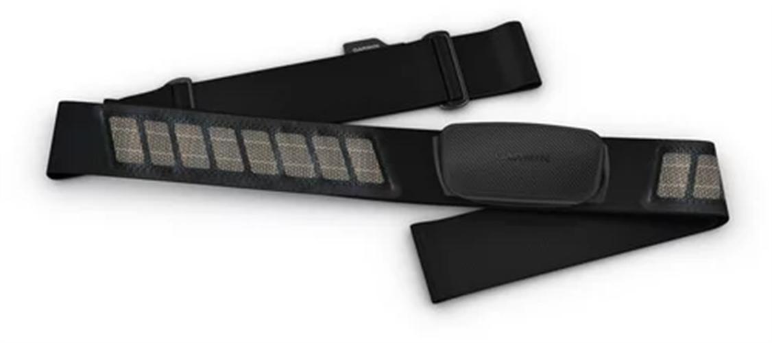 רצועת חזה למדידת דופק עם ANT+ ו-Garmin HRM-Dual - Bluetooth