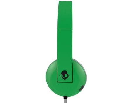 אוזניות קשת עם מיקרופון ירוק Skullcandy UPROAR