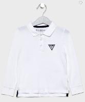 חולצת פולו לבנה GUESS בנים  - 2-12 שנים