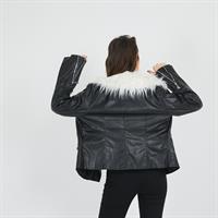 מעיל בייקר שחור