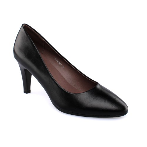 נעל עקב פרטבורו - שחור