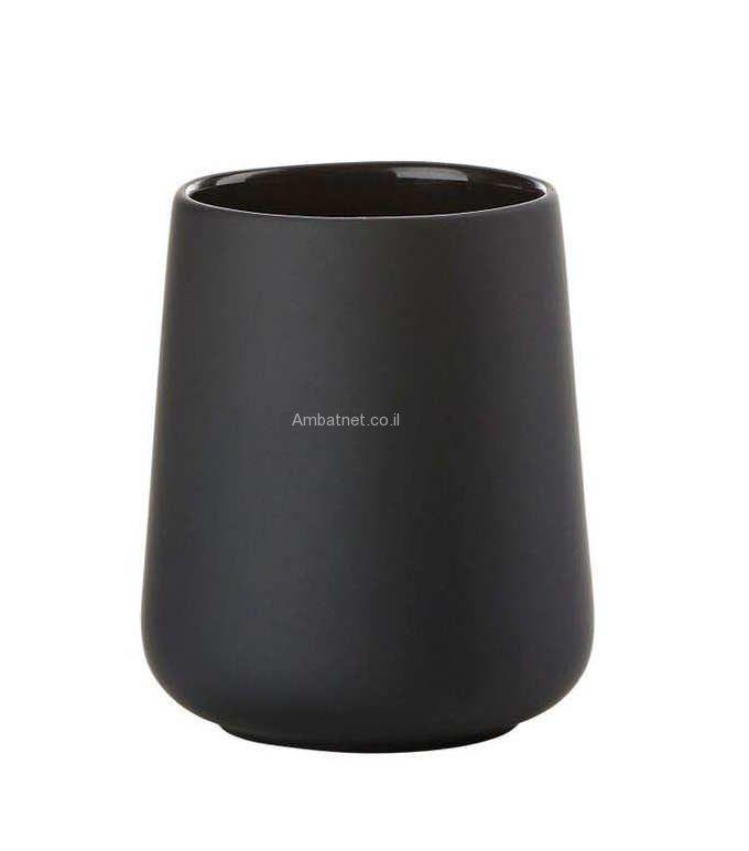כוס למברשת שינים  Nova One שחור