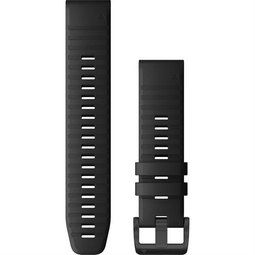 רצועה שחורה מקורית לשעון Garmin Fenix 6 QuickFit 22 Watch Bands