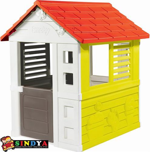 בית ילדים קסום גג אדום 810705 SMOBY