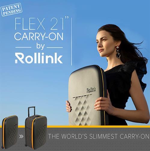 המזוודה הדקה בעולם ROLLINK