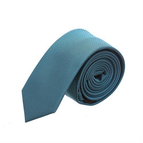 עניבה סלים מדוגמת טורקיז