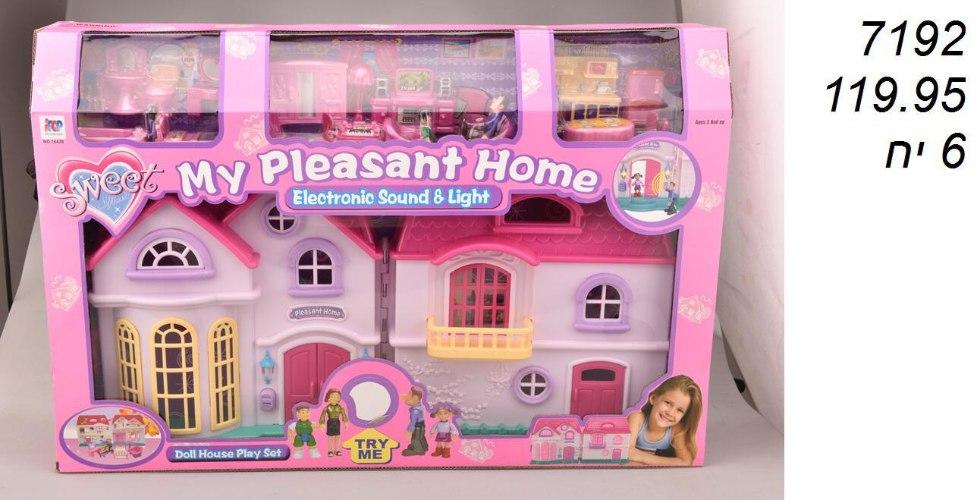 בית בובות פלסטיק