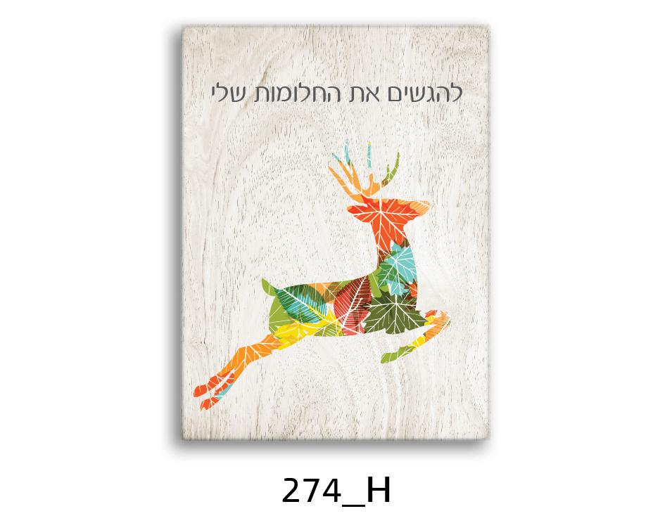 תמונת השראה מעוצבת לתינוקות, לסלון, חדר שינה, מטבח, ילדים - תמונת השראה דגם 274H
