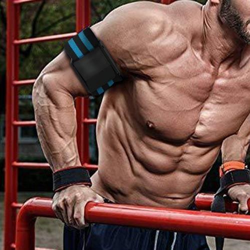 By BFR Bands Fitness Arm Strap Blood|רצועות חסימת דם לאימון ידיים\רגליים