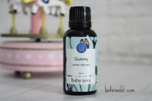 Gummy|ג'ל לבקיעת שיניים|בייבי טבע