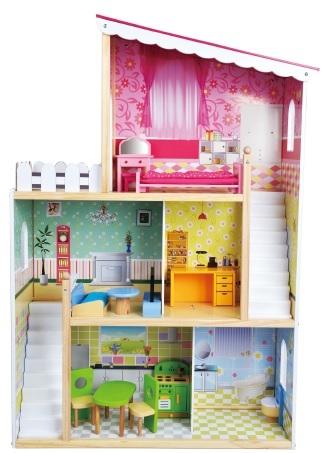 בית בובות עץ ענק