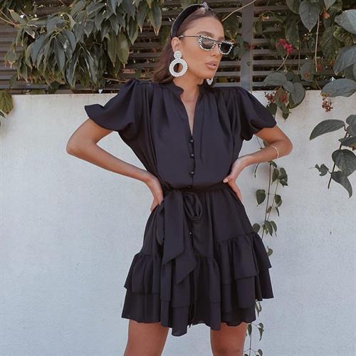 שמלת מיכאלה - שחורה