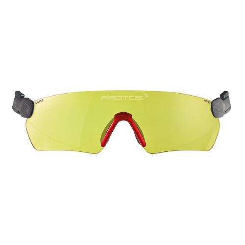משקפי מגן לקסדת Protos צהוב