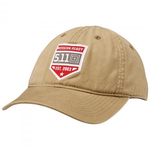 כובע טקטי קויותי 5.11 MISSION READY™ CAP Coyote
