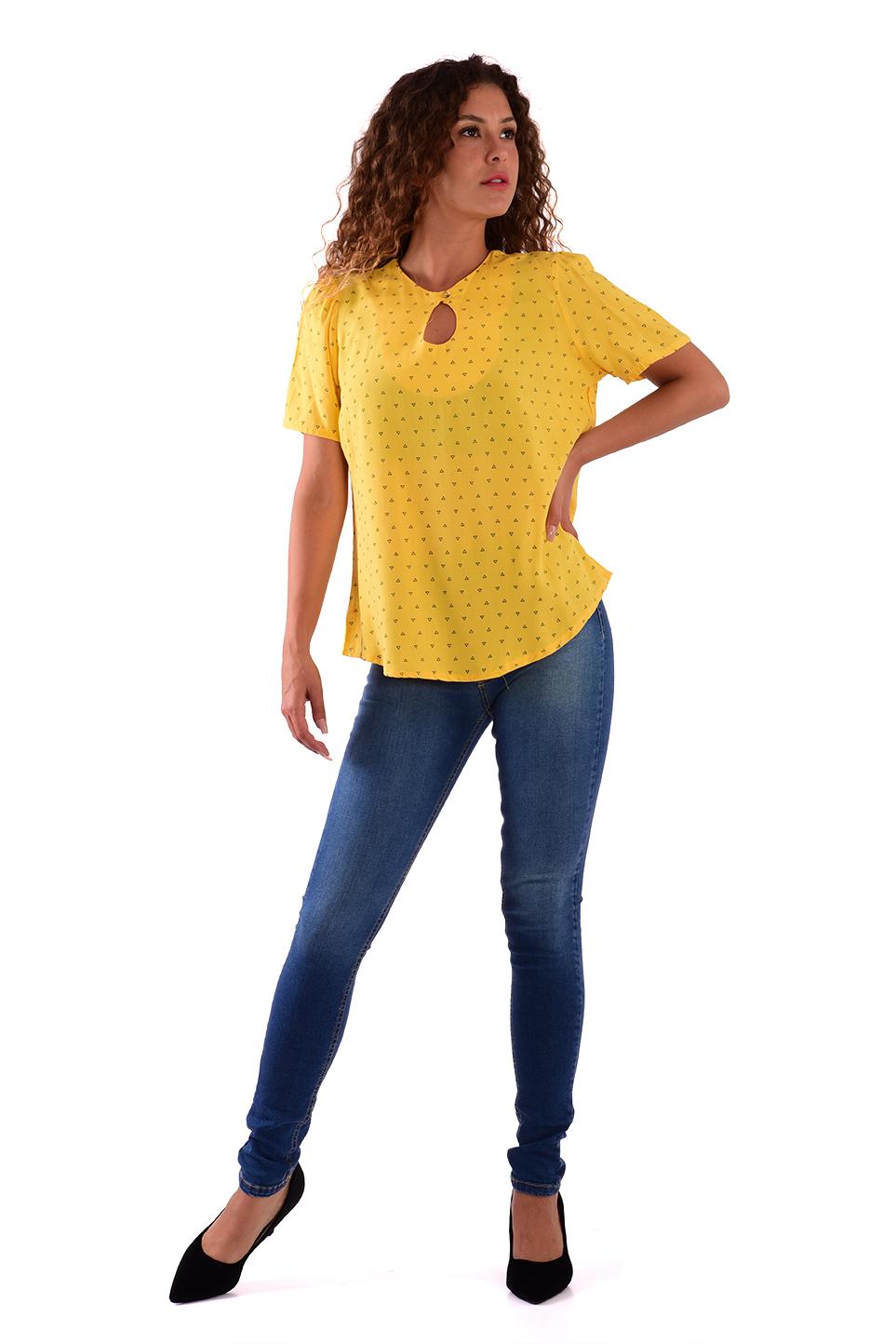 חולצה מרי צהוב