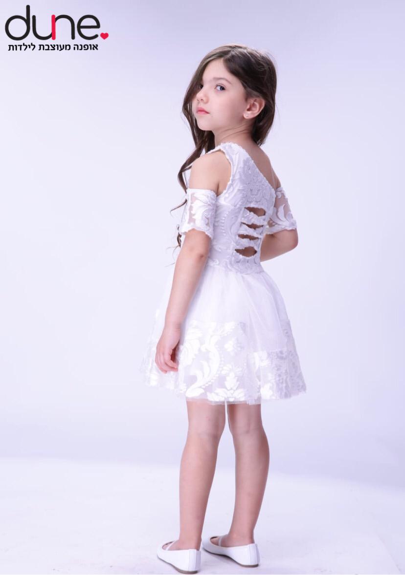 שמלת שושבינה טול ותחרה