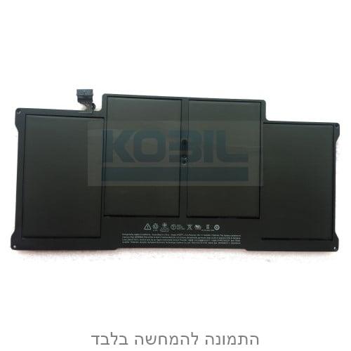 """סוללה מקורית למק אייר 13"""" 7.6V/54.4Wh Original MacBook Air 13"""" Battery A1377 A1369"""