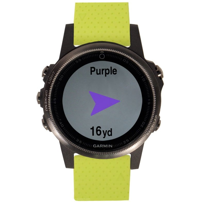 רצועה צהובה מקורית לשעון Garmin Fenix 5s