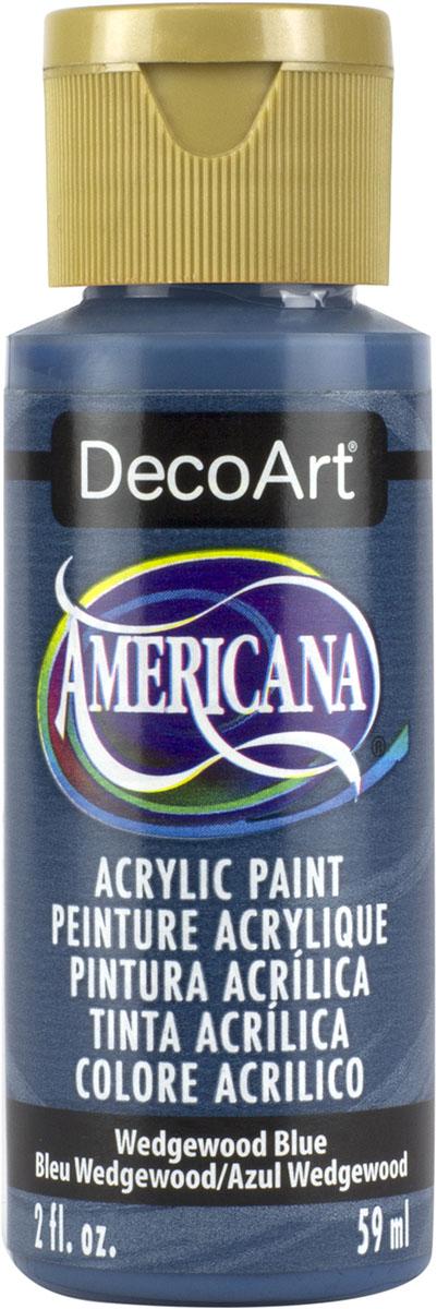 """צבע אמריקנה 59 מ""""ל Wedgewood Blue DAO38"""