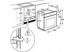 תנור בנוי AEG BEB331010M