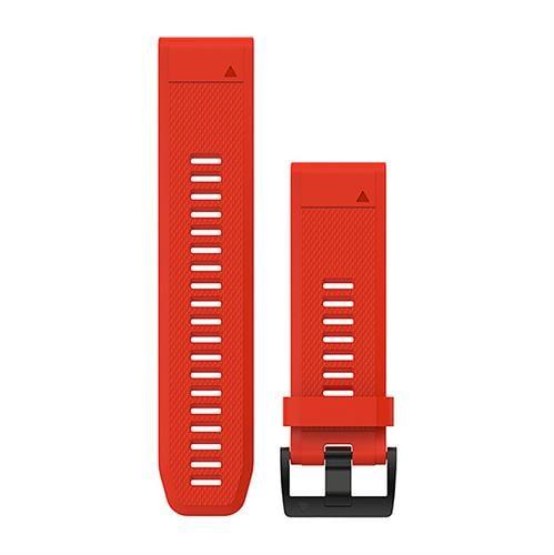 רצועה אדומה מקורית לשעון Garmin Fenix 5X QuickFit 26 Watch Bands
