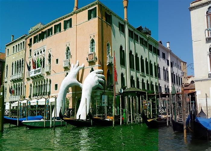 סיור הליכה ושיט בגונדולה בונציה