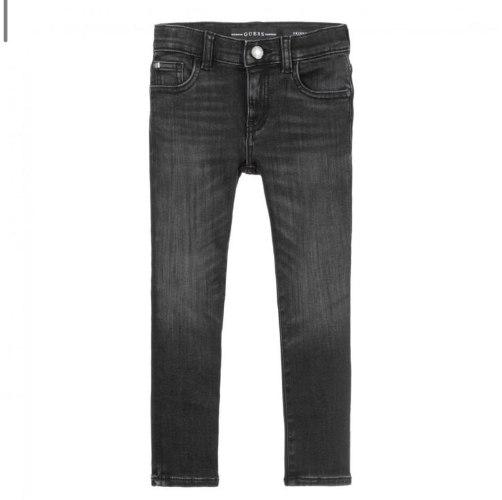 ג׳ינס שחור משופשף בנים GUESS מידות 3 חודשים עד 7 שנים