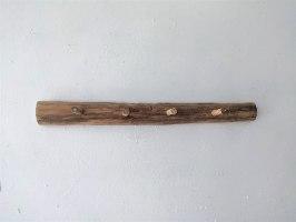 מתלה 4 ווים מעץ טבעי