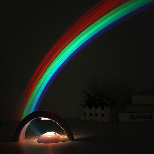 מנורת לילה צבעי הקשת