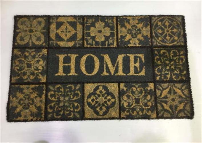 """שטיח כניסה לבית 74X45 ס""""מ-HOME"""
