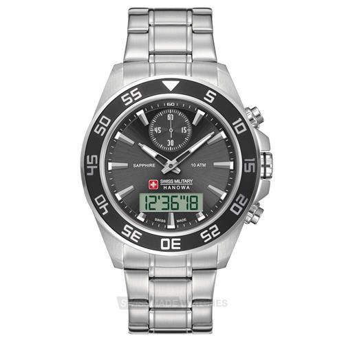 שעון יד אנלוגי גברים Swiss Military Hanowa 06-5222.04.007