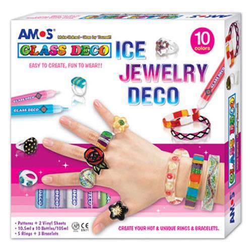 קיט צבעי חלון -תכשיטים AMOS