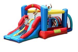 מתקן קפיצה להתחרות בכיף הפי הופ - 9163 - Racing Fun Bouncer Happy Hop