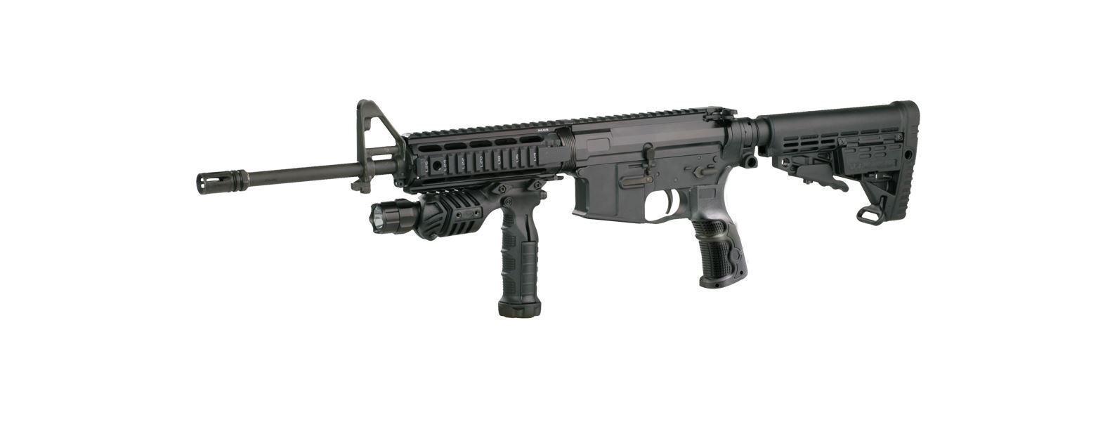 X4MSD – Picatinny Aluminum Quad Rail – AR15/M4/M16