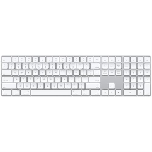 מקלדת Apple Magic Keyboard with Numeric Keypad MQ052HB/A אפל