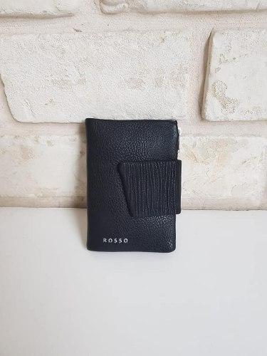 ארנק דמוי עור קטן שחור 4036