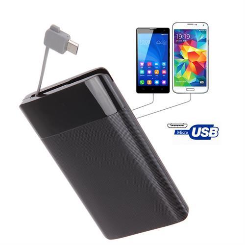 סוללת גיבוי iRULU Ultra Slim Portable Power Bank 2600mAh