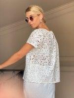חולצת אמבר - מחוררת