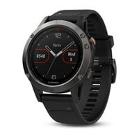 שעון דופק Garmin Fenix 5 Slate gray with black band