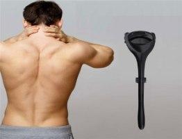 מוט עם זרוע ארוכה לגילוח הגב