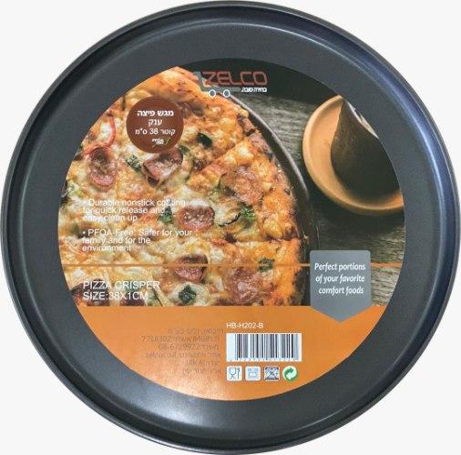 """תבנית פיצה ענקית קוטר 38 ס""""מ"""