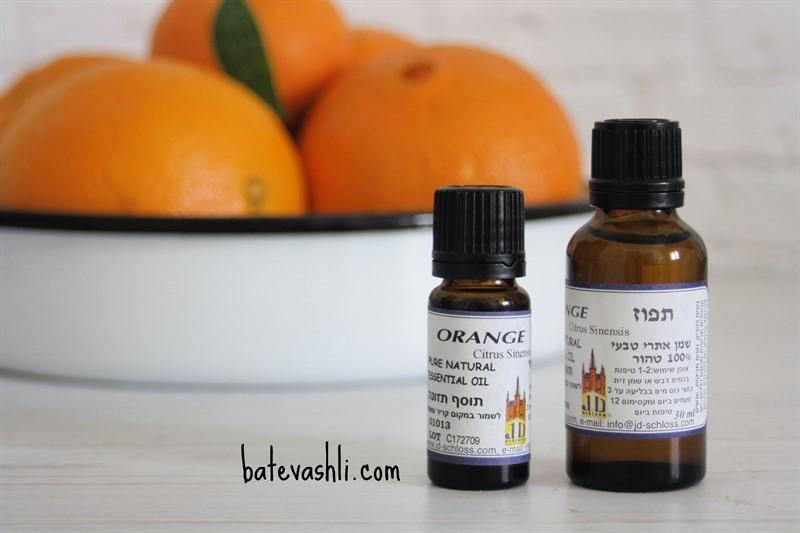 שמן אתרי תפוז