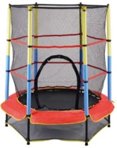 טרמפולינה לילדים מדגם BUYER  בקוטר של 1.4 מטר עם רשת הגנה - קפיץ קפוץ