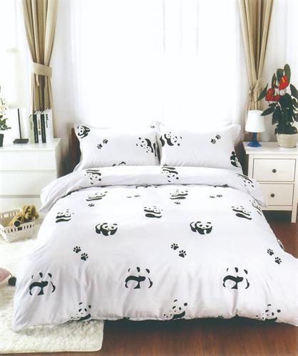 סט מלא מיטה וחצי דגם פנדה