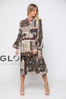 שמלת ויסקוזה מלמלה GLORY