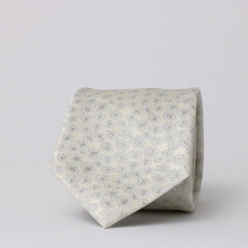 עניבה חתנים קרם דגם לורקס מטושטש