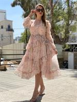 שמלת שיפון קומות