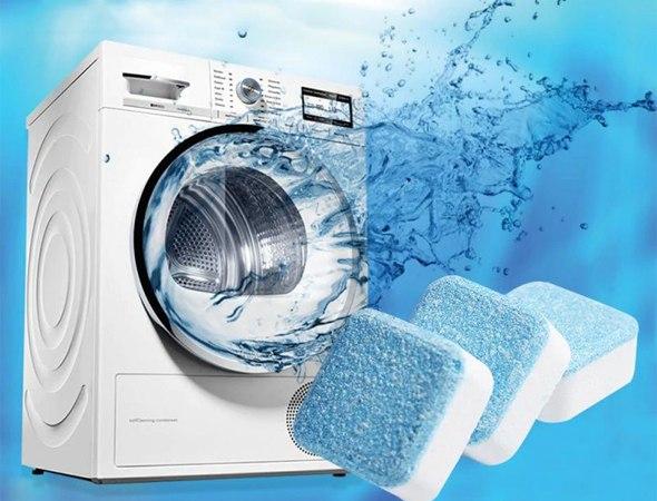 מארז טבליות קסם לניקוי מכונת הכביסה