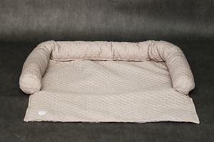 כיסוי ספה- L-XL בז'