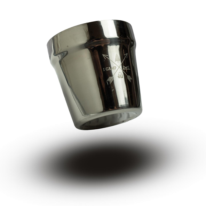 כוס נירוסטה דופן כפולה 180 מל